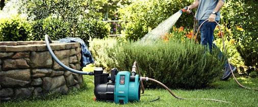 профессиональное оборудование Gardena